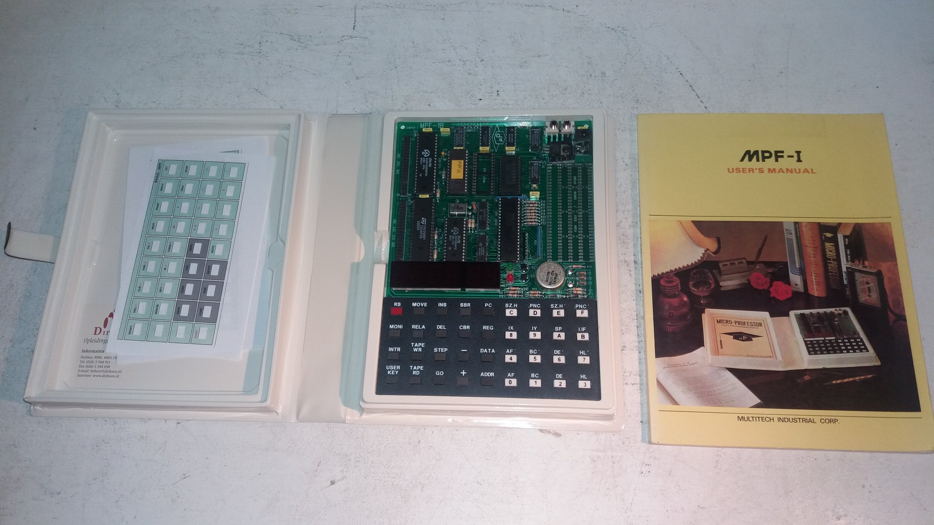 Multitech Microprofessor MPF-1B Single Board Computer