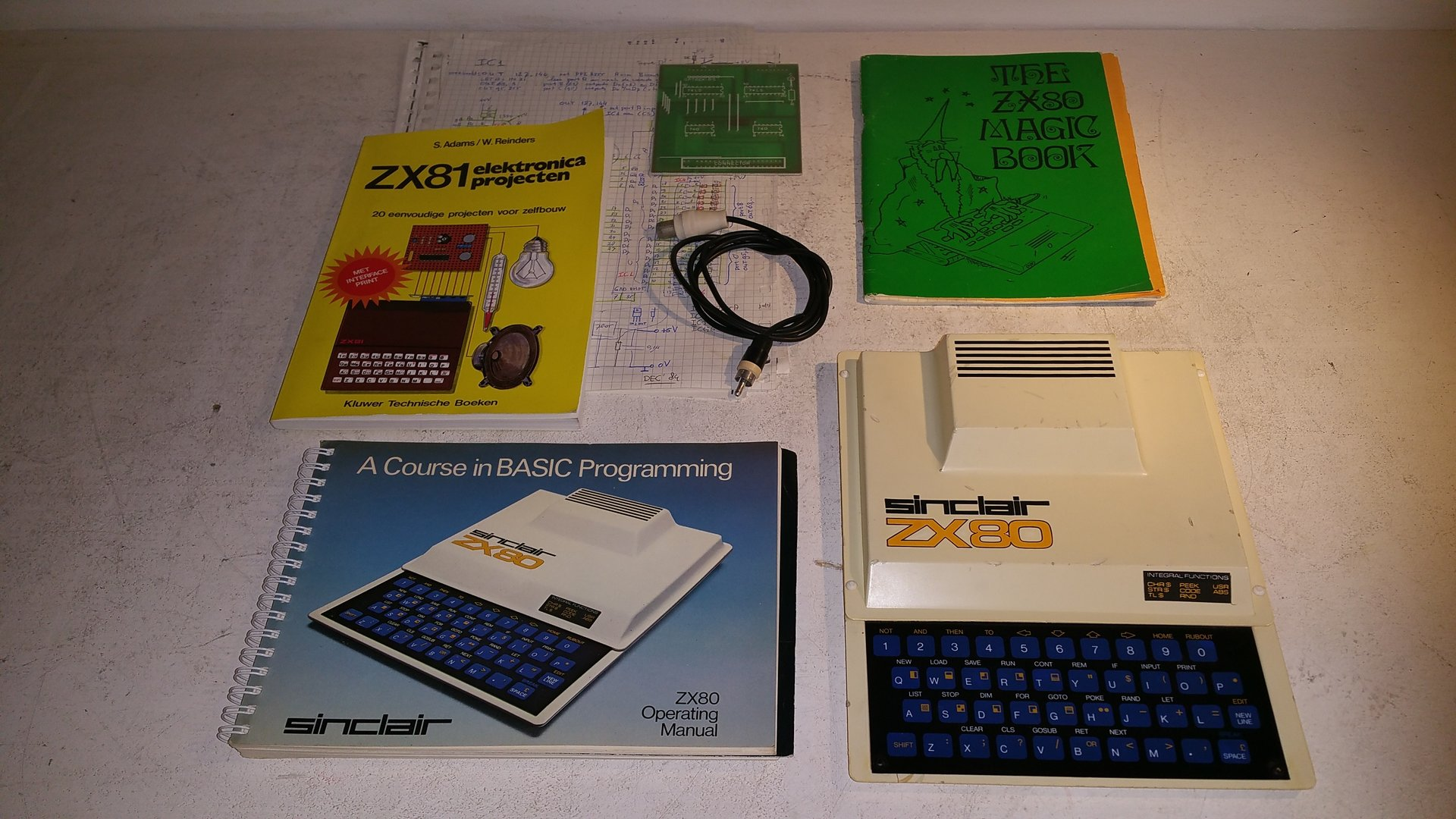 Sinclair ZX-80 Homecomputer