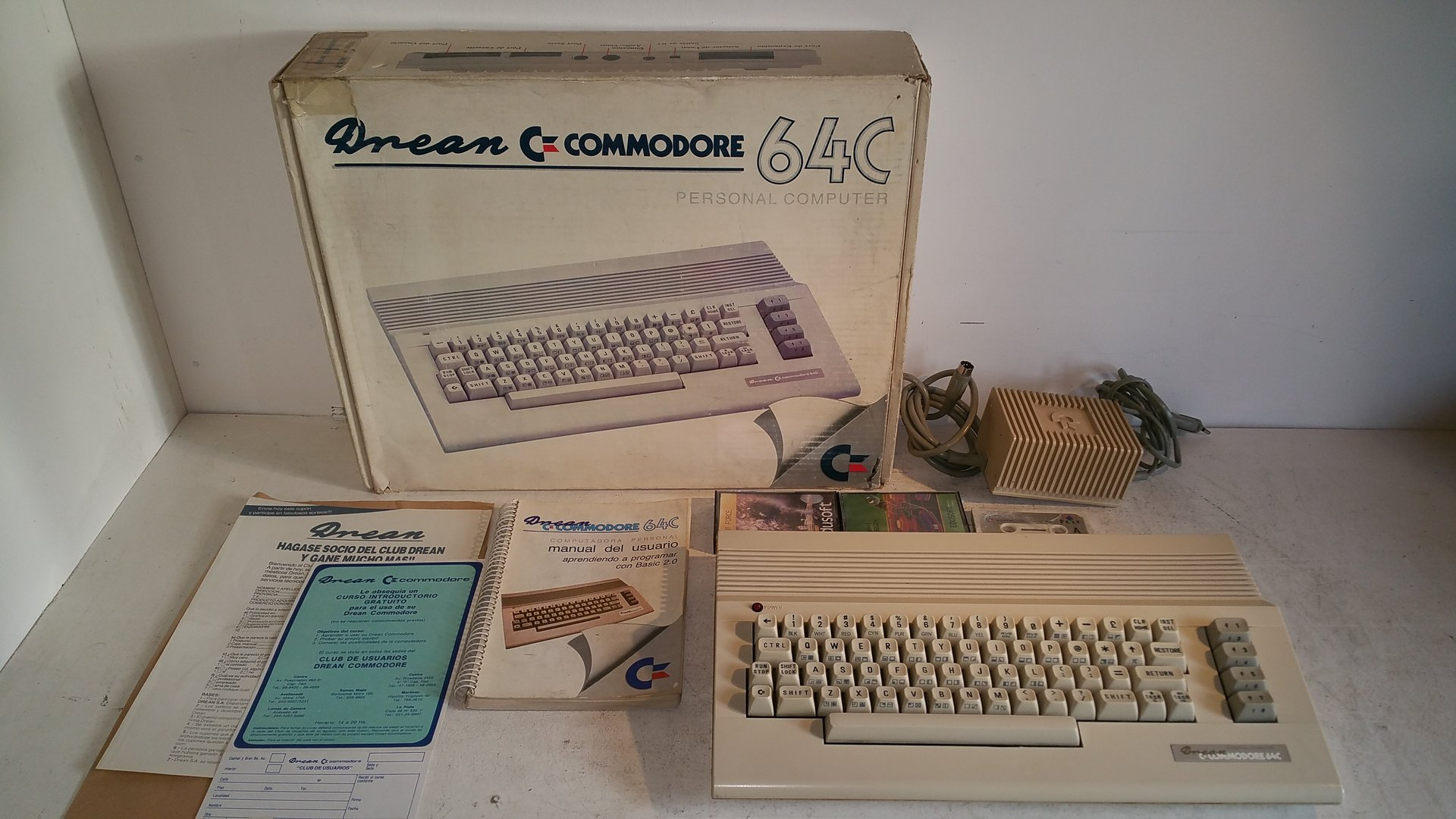 Commodore 64-C 'Drean' Ultra Rare from Argentinia Commodore [Boxed]